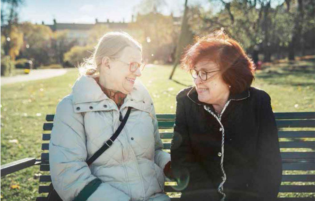 """Bästa vänner """"tack vare"""" Alzheimer"""