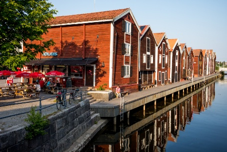 Vacker vy Hudiksvall