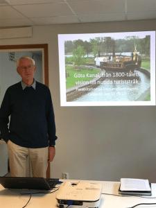 Lennart Klerdal berättar om Göta Kanal