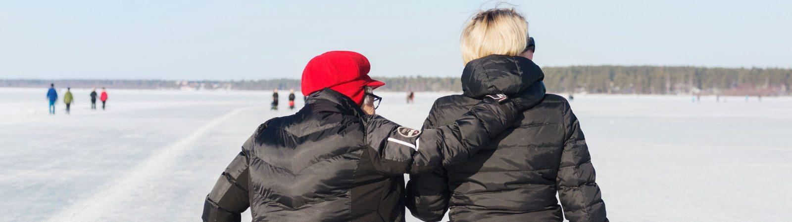 Kvinnor på is